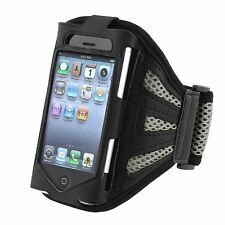 Silver Sport Running Gym Arm Band Strap For Apple iPod Touch iTouch 4G 4 Gen 4th