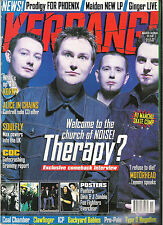 KERRANG #690 THERAPY:KORN:ALICE IN CHAINS:PRODIGY:MOTORHEAD + Posters