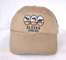 *JUNEAU ALASKA* FLY FISHING HUNTING BALL CAP HAT *OURAY SPORTSWEAR* embroidered
