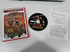 OVERLORD JUEGO PARA PC DVD-ROM ESPAÑOL CODEMASTERS INTERACTIVE RED COLLECTION