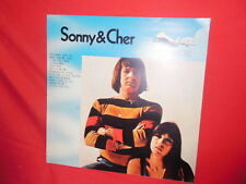 SONNY & CHER LP 1972 EX+ Italy Rare Cover