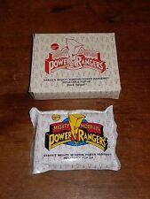 1995 Avon Mighty Morphin Power Rangers Inflatable Pop UP Black Ranger NEW