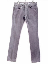 NOTIFY IBERIDE STRETCH DENIM JEANS SIZE 28 Straight Leg Low Rise Made in Italy
