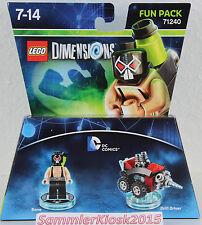 DC Comics - Fun Pack - Lego Dimensions - 71240 -  Neu OVP - Bane & Drill Driver