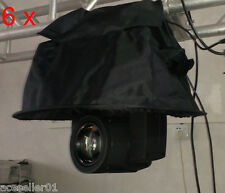 6PCS 230W 7r sharpy Moving Head Rain Cover stage lighting rental Spare Parts DJ