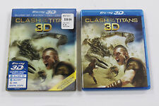 Clash of the Titans 3D Blu-ray 3D / Blu Ray /  DVD 3 Disc Set 2010