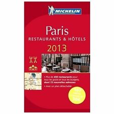 Michelin Guide Paris 2013 (in French) (Michelin Guide/Michelin) (Frenc-ExLibrary