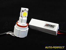MTEC 6000K H11 LED FOG LIGHT Bulbs 6200+ Lumen