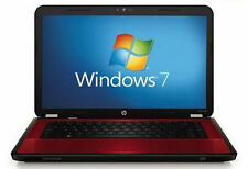 HP G6-1A19WM AMD AthlonII Laptop/Notebook COMPUTER 15 6'' Win7(Red) Webcam...