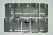 LOT of 10 BLACKBERRY CURVE 8300 8320 grey Battery door cover