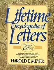 Lifetime Encyclopedia of Letters (3rd Revised and Expanded), Meyer, Harold E., G