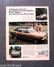 P633 - Advertising Pubblicità -1973- CHRYSLER SIMCA , SUNBEAM