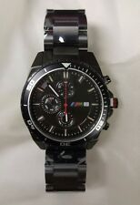 BMW M Chronograph Watch Black 80262406694 Original BMW lifestyle