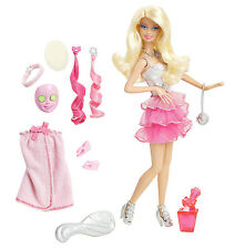BARBIE SPA TO FAB DOLL WITH COLOR CHANGE NAILS X7891 *NEW*