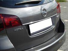 Chromstrebe para Opel Astra J Sports Tourer Heck portón trasero cromo tuning a partir de 2009