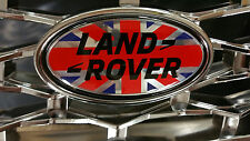 Land rover Union Jack large badge for Disco 3 or Defender grille 105mm x 55mm