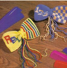BACK TO SCHOOL ABC & 123 Hairbows/Crochet Pattern Instructions