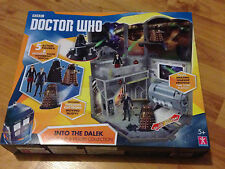 Doctor Who Into The Dalek Time Zone and Figure Collection Brand New Sealed
