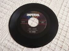 FATS DOMINO  IDA JANE/YOU WIN AGAIN IMPERIAL 5816