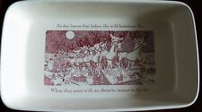 New Johnson Brothers Twas the Night Before Christmas Baker/ Serving Dish
