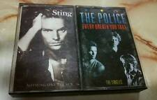 The Police & Sting cassette tape lot x 2  super rare