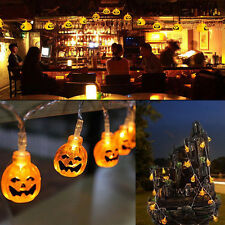 20 Pumpkins LED String Light Pumpkin Lights for Halloween Decoration Party Hot