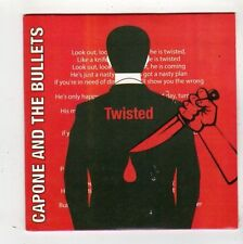 (FZ318) Capone & The Bullets, Twisted / Girl - DJ CD