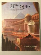 Vintage The Magazine ANTIQUES November 1979 - American Paintings