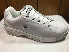 VINTAGE CONVERSE 14 SYNCHRO OX MEN'S OX LO TOP LEATHER WHITE RELEASED 2001