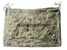 US Military USMC PONCHO LINER Reversible MARPAT / COYOTE Digital Woodland FAIR