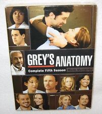 Grey's Anatomy Complete FIFTH Season More Moments NEW SEALED DVD SET