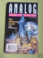 ANALOG - SCIENCE FICTION & FACT MAG -DEC 2000 - JACK WILLIAMSON- STEPHEN L BURNS