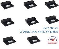 Lot of 8 Dell Docking Station E Port replicator Latitude E4200 E4300 E5400 E6400