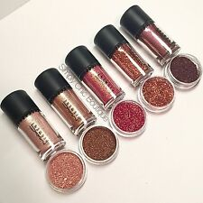 AUTH MAC Pigments Rose, Whisper Pink, Tan, Glitter, Heritage, Sample Set 1/4tsp
