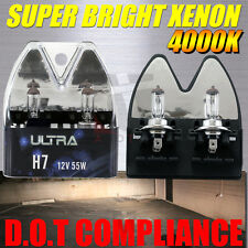 2X H7 Halogen 4000K Lights Bulbs 55W Headlight Headlamp