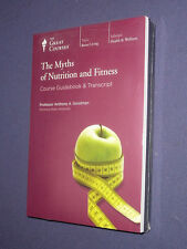 Teaching Co Great Courses DVDs       MYTHS OF NUTRITION and FITNESS    sealed