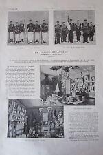 LA LEGION ETRANGERE REPORTAGE PHOTOS EXTRAIT de L'ILLUSTRATION de 1913