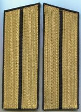 USSR Soviet Russia Army Black Parade Lt Shoulderboards Original