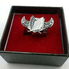 Attack on Titan  Scouting Legion  with Big wings Alloy ring