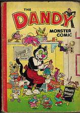 DANDY MONSTER COMIC 1952 vintage annual