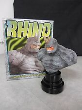 Bowen Designs ~ Rhino Mini-Bust ~ 2904/6000 ~ 2001 Marvel