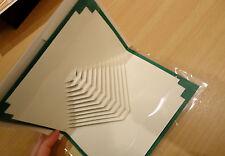 3x Grußkarte 3D-Karte Pyramide Origami