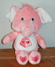 Care Bears Collector's Edition Cousins Lotsa Heart Elephant Lots Of Pink Trunk