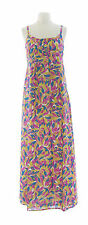 BODEN Women's Multi Empire Waist Maxi Dress w/ Adjustable Straps US Size 14R NEW
