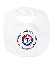 Texas Rangers Baby Bib NWT
