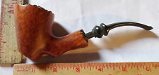 Vintage Lg Stanwell handcut briar pipe Denmark collectible old Danish tobacciana