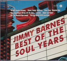 JIMMY BARNES - BEST OF THE SOUL YEARS - CD - NEW -
