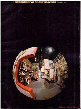 rivista - PROGRESSIVE ARCHITECTURE ANNO 1967 NUMERO 12
