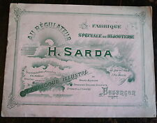 CATALOGUE FABRIQUE BIJOUTERIE SARDA, BESANCON, AU REGULATEUR (VERS 1900)
