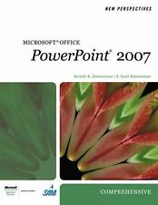 New Perspectives on Microsoft Office PowerPoint 2007, Comprehensive (New Perspec